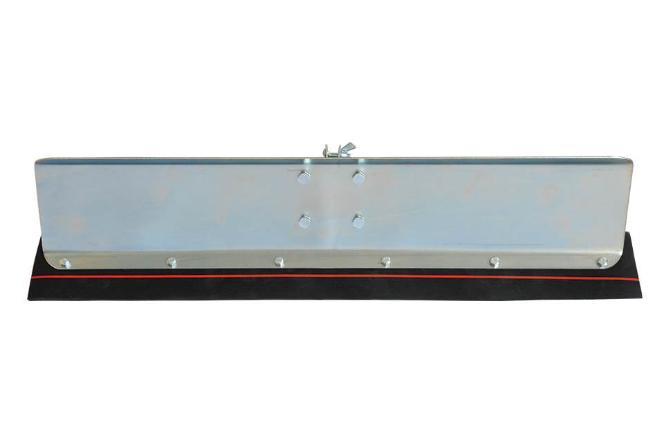 snow pusher squeegee