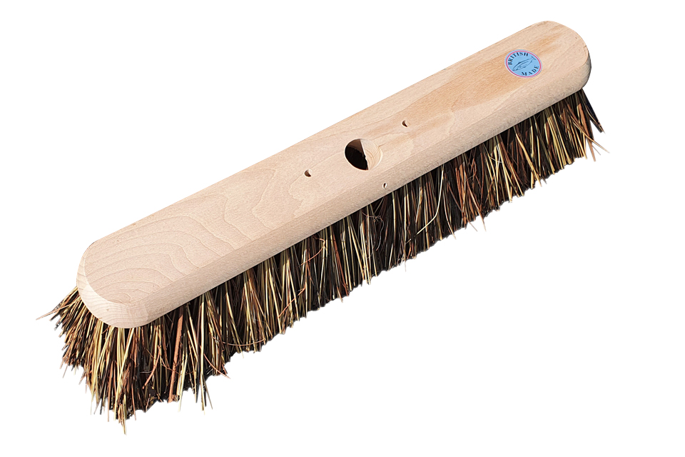 Flat-top-broom-head